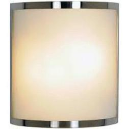 CONTEMPORARY WALL SCONCE FIXTURE MAXIMUM TWO 60 WATT INCANDE