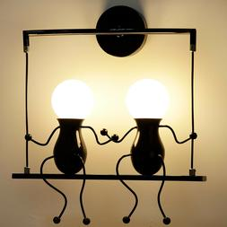 Creative Indoor Wall Sconce Lighting Bedside Lamp LED Wall L