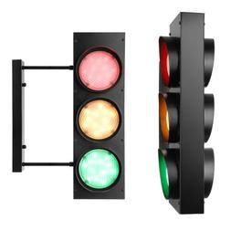 Creative Remote Control Traffic Light Industrial LED Wall Sc