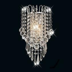 Surpars House Crystal Wall Lamp,Silver New