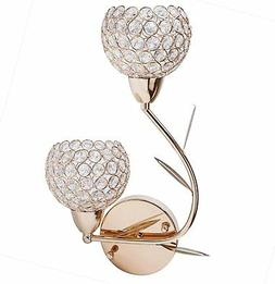Lightess Crystal Wall Sconce Lighting Modern Sconces Light f