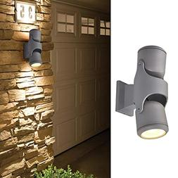 GORGAN Up Down Adjustable Outdoor Wall Light 120Lm/w Exterio