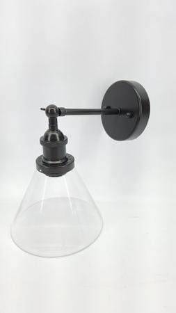 CLAXY Ecopower Industrial Antique Simplicity Glass Wall Scon