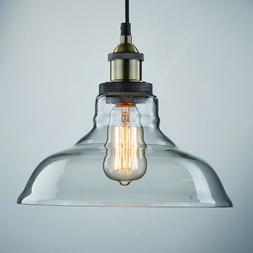 CLAXY Ecopower Industrial Edison Vintage Style 1-Light Penda