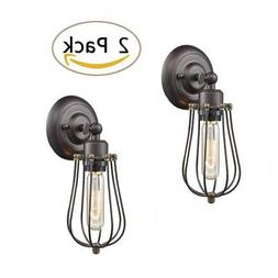 ecopower light wire cage wall sconce 2