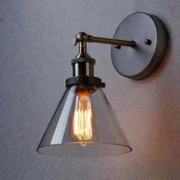 CLAXY Ecopower Simplicity Industrial Edison Antique Glass Wa