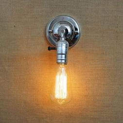 edison wall lamp with knob switch wall sconce bedside wall l