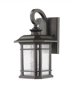 Franklin Light Rubbed Bronze Outdoor Wall Sconce