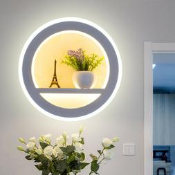 Indoor 18W LED Wall Sconce Light Fixture Acrylic Lamp Flower