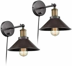 CLAXY Industrial Light Adjustable Wall Sconce Simplicity 1 L