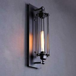 Industrial Retro Wall Lamp Sconce Metal Steampunk Barn Flute