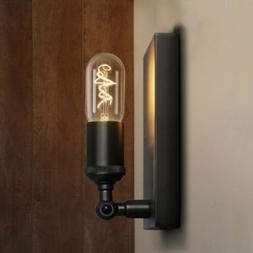 industrial square metal led wall sconce lamp
