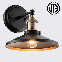 Donglaimei Industrial Vintage Style Wall Sconce Light, Simpl