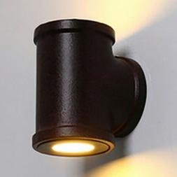 Industrial Vintage Wall Sconce Light Pipe Style Cylinder Sha