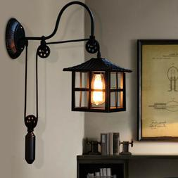 Industrial Wall Mounted Light Sconce Vintage Gooseneck Lamp