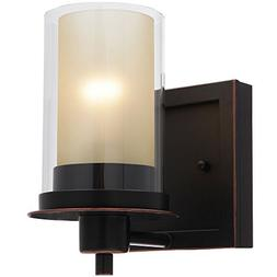 Designers Impressions Juno Oil Rubbed Bronze 1 Light Wall Sc