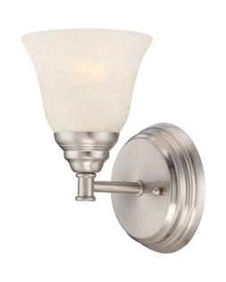 Designers Fountain 85101-SP Kendall Wall Sconce, Satin Plati