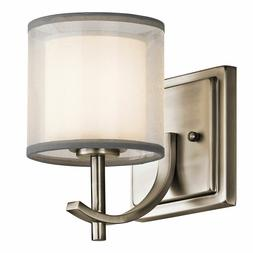 Kichler 45449AP Tallie Wall Sconce Antique Pewter Lighting