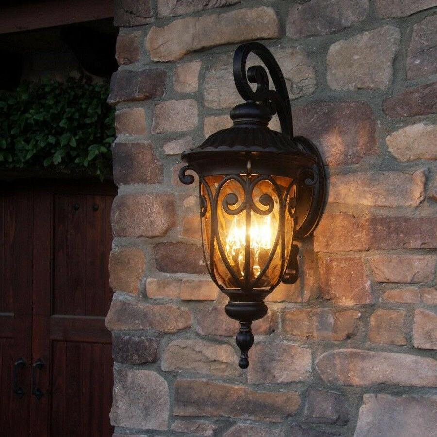 1 Lighting Wall Mount Outdoor Lantern