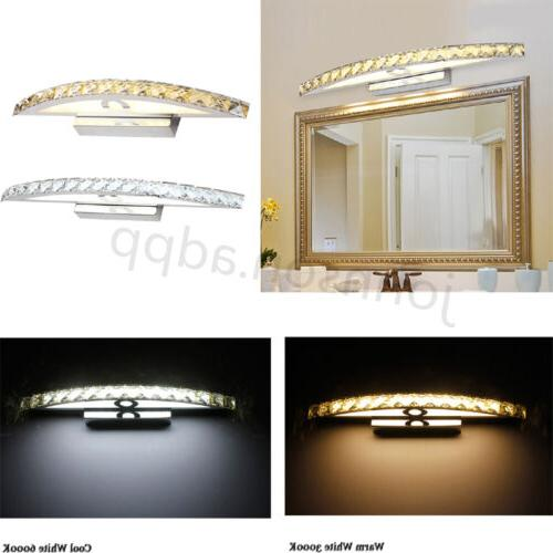 10W Crystal LED Makeup Mirror Front Light Wall Sconces Lamp