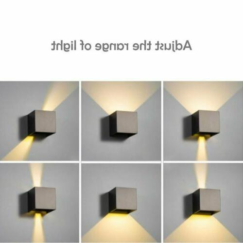 12W Wall Porch Sconce Modern Down Decor
