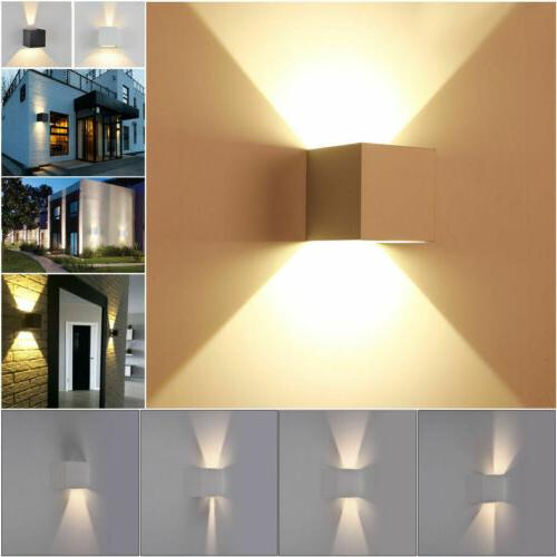 12W Cube COB LED Wall Light Exterior Waterproof Adjust Angle