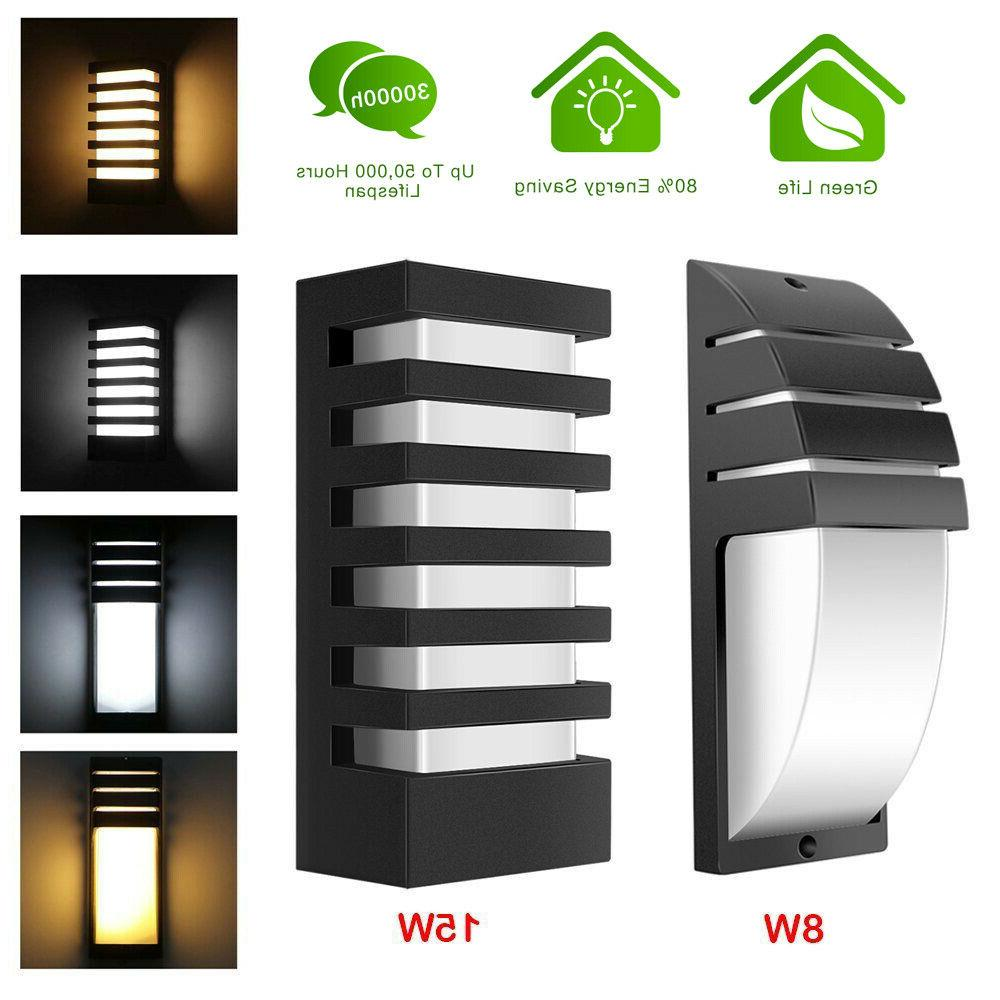 15w led wall sconce modern porch light