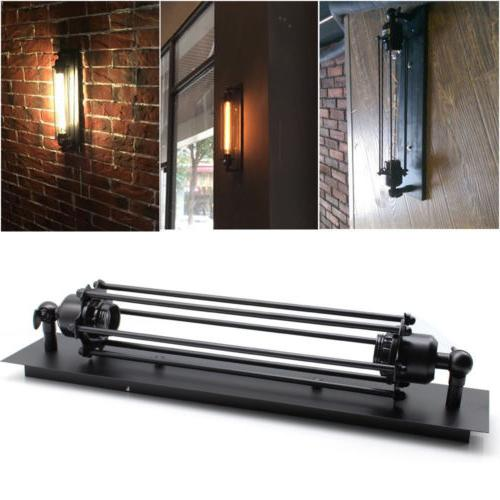 2*Industrial Retro Sconce Edison Wall Fixture