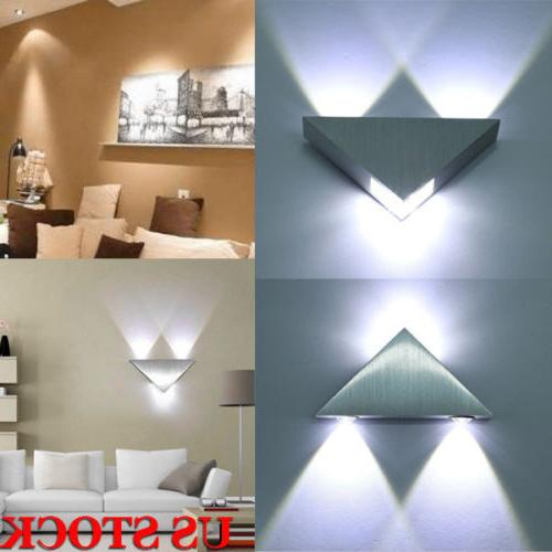 2pc modern led wall light up