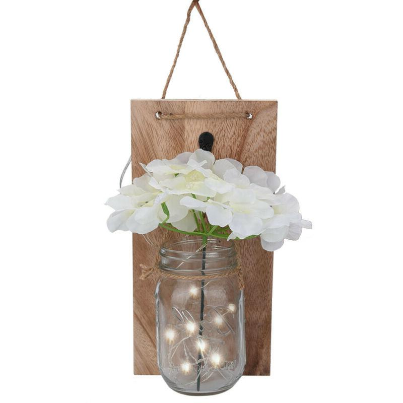 2pcs Jar With Fairy Rustic Hanging DIY