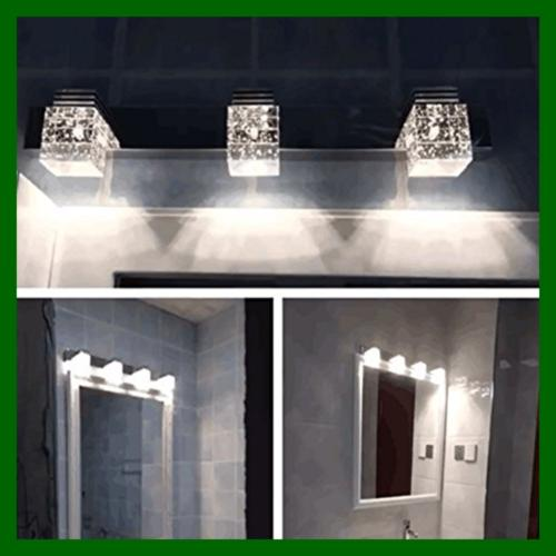 3 LED Vanity Lights Bathroom Wall Sconce,Color(White)