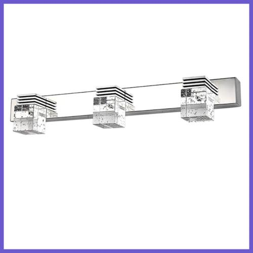 3 Bathroom Lighting Sconce,Color(White)
