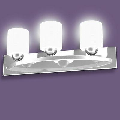 3 Glass Sconce Lamp Cover Vanity Bathroom
