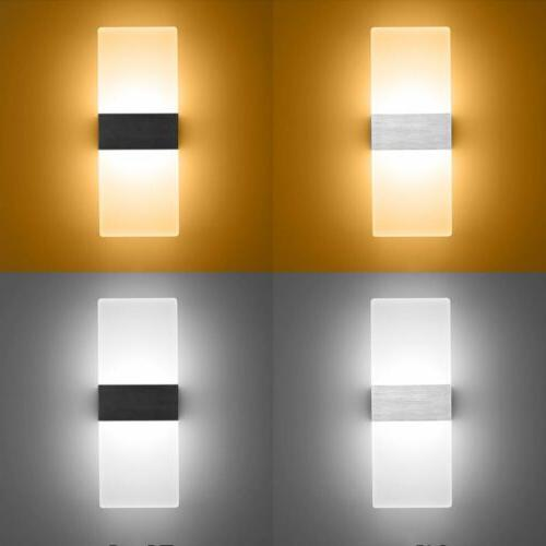 3w led square wall lamp hall porch