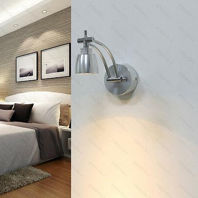 3W LED Sconce Picture Rotatable Spot Light Switch+Plug