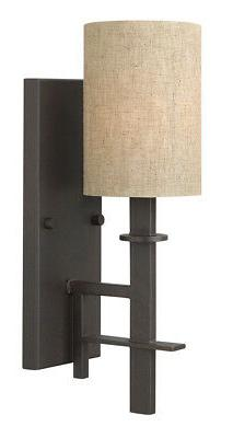 Hinkley 4540RB Transitional One Light Wall Sconce from Sloan