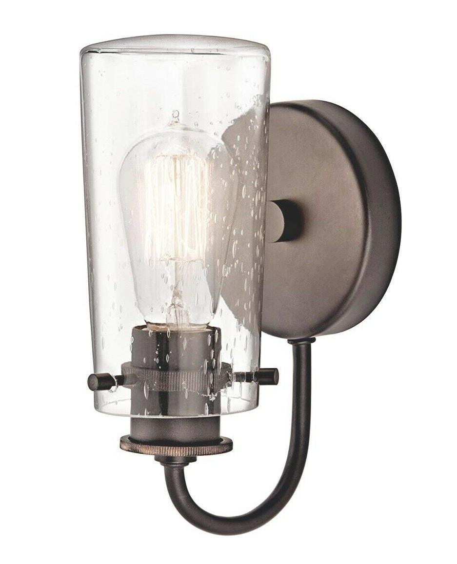 Kichler 45457CH Light Sconce with Shade
