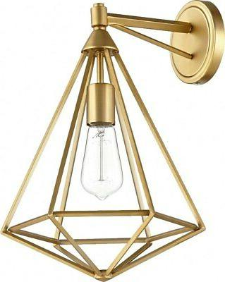 Quorum Lighting 5311-1-80 Bennett Wall Sconce, Aged Brass