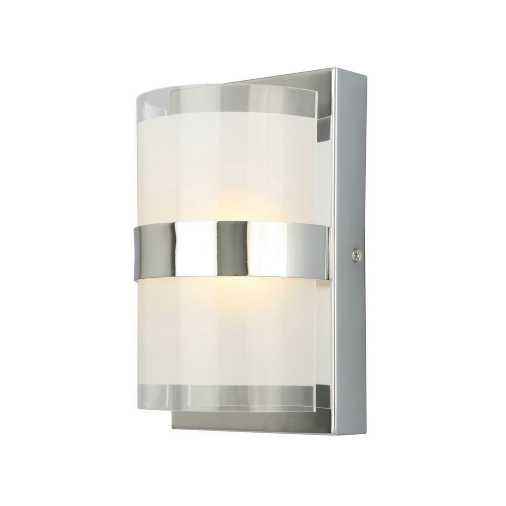"""Design House 577767 Haswell 1-Light 4-3/4""""W Integrated LED B"""