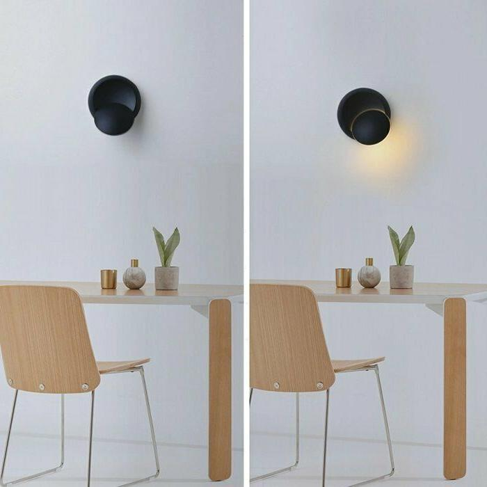 5W Wall Sconce Light Chasing The Lamp Rotatable