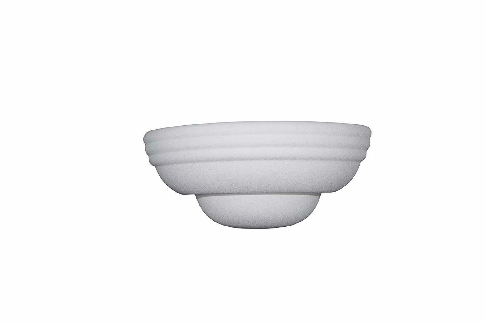 Designers 6030-WH Collection Sconces, Paintable Ceramic