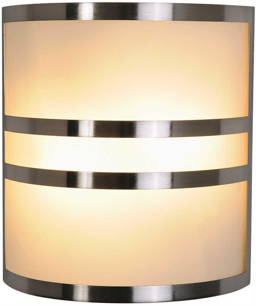 617605 contemporary wall sconce brushed