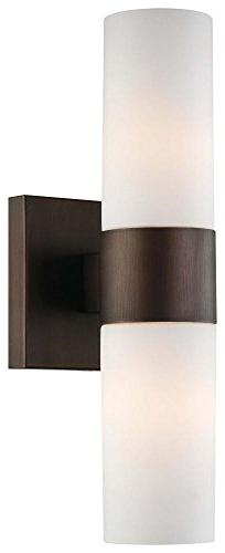 Minka Lavery 6212-647, 2 Light Wall Sconce, Copper Bronze Pa