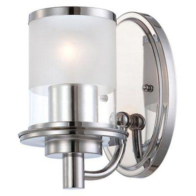 6691 essence wall sconce in chrome finish
