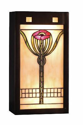 71009 stained glass tiffany wall washers wall