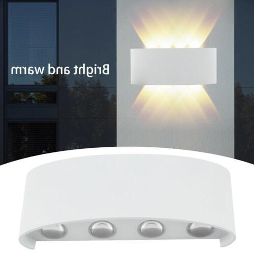 8W Wall Hanger Light Sconce Up Lamp Indoor Hallway Waterproof