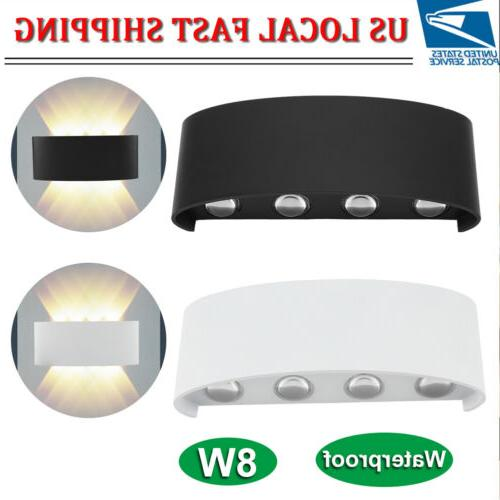8w led wall hanger light sconce up
