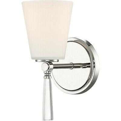 92201 pn abree wall sconce polished nickel