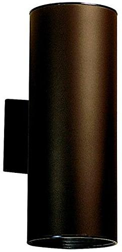 Kichler Lighting 9246WH Modern Two Light Outdoor Wall Sconce