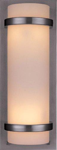 Minka Lavery 341-84, 2 -Light Wall Sconce, Brushed Nickel